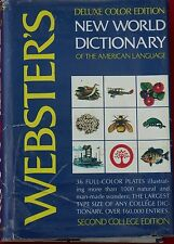 DELUXE COLOR WEBSTER'S DICTIONARY 2nd College Edition Large American English