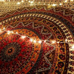 Kerra Mandala Bohemian Tapestry Boho Beach Decor Wall Tapestries Picnic Blankets
