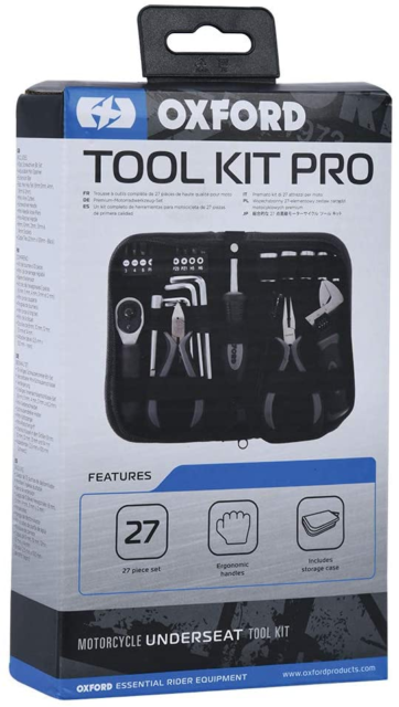 Oxford Bike Tool Kit Pro - Repair Your Motorbike, Motorcycle or Scooter