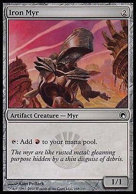 4 Iron Myr ~ Artifact Mirrodin Mtg Magic Common 4x x4