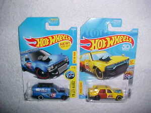 HOT-WHEELS-TWO-HW-METRO-1-TIME-ATTAXI-and-1-TIME-SHIFTER-VHTF-NEW-MATTEL