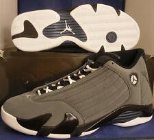 Nike Air Jordan 14 XIV Retro Light Graphite Grey Midnight Navy SZ 14 #311832-011
