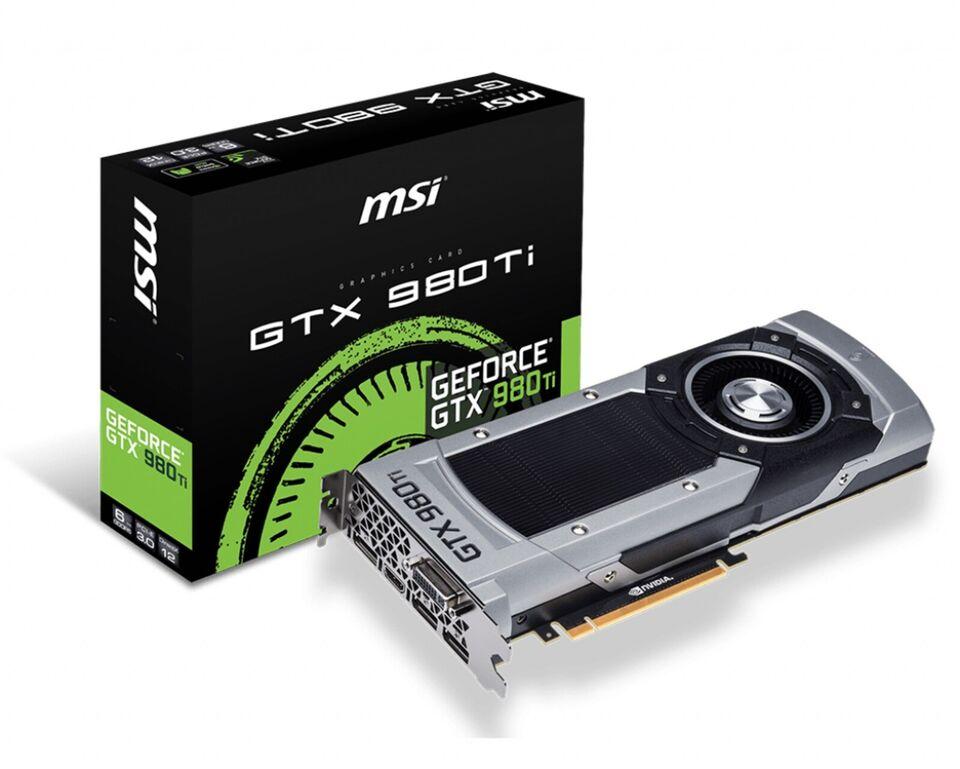 GTX 980TI Founders Edition GeForce GTX 980Ti FE, 6 GB RAM,