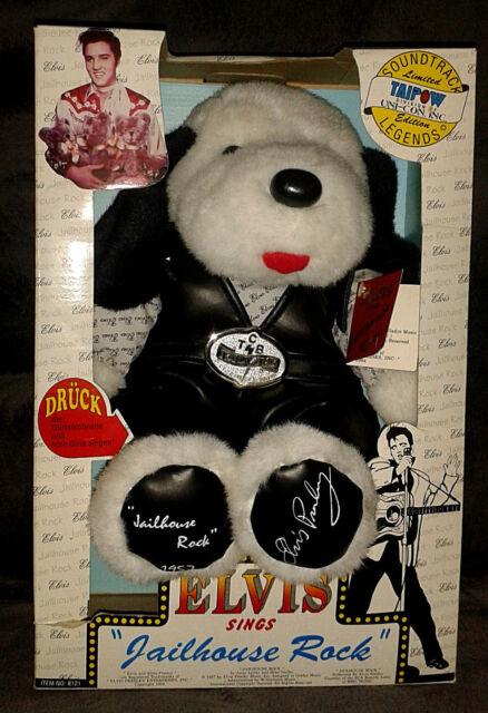 Elvis Presley Plüschtier Stofftier Hund Fanartikel Limited Edition Soundtrack