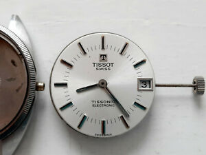 Vintage Tissot Tissonic Electronic Watch Movement 1970' (Repair / Parts)