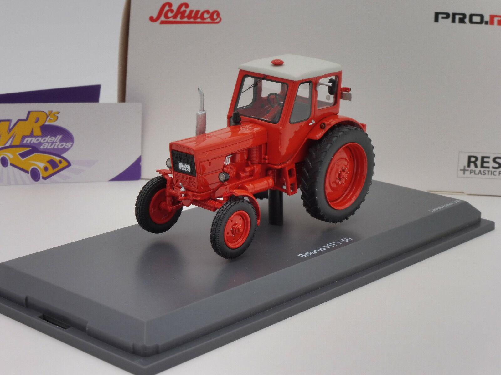 venta con descuento Schuco pro. R 09069   Belarús tractor mts-50 año año año 1961 en  Naranja  1 43 nuevo  servicio considerado