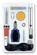 Duratool Soldering Iron & Stand Starter Kit Electronic Uk Bs Plug