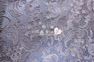 G16 light champagne Guipure Lace bridal lace 120cm wide-Sold  by 1/2 yard