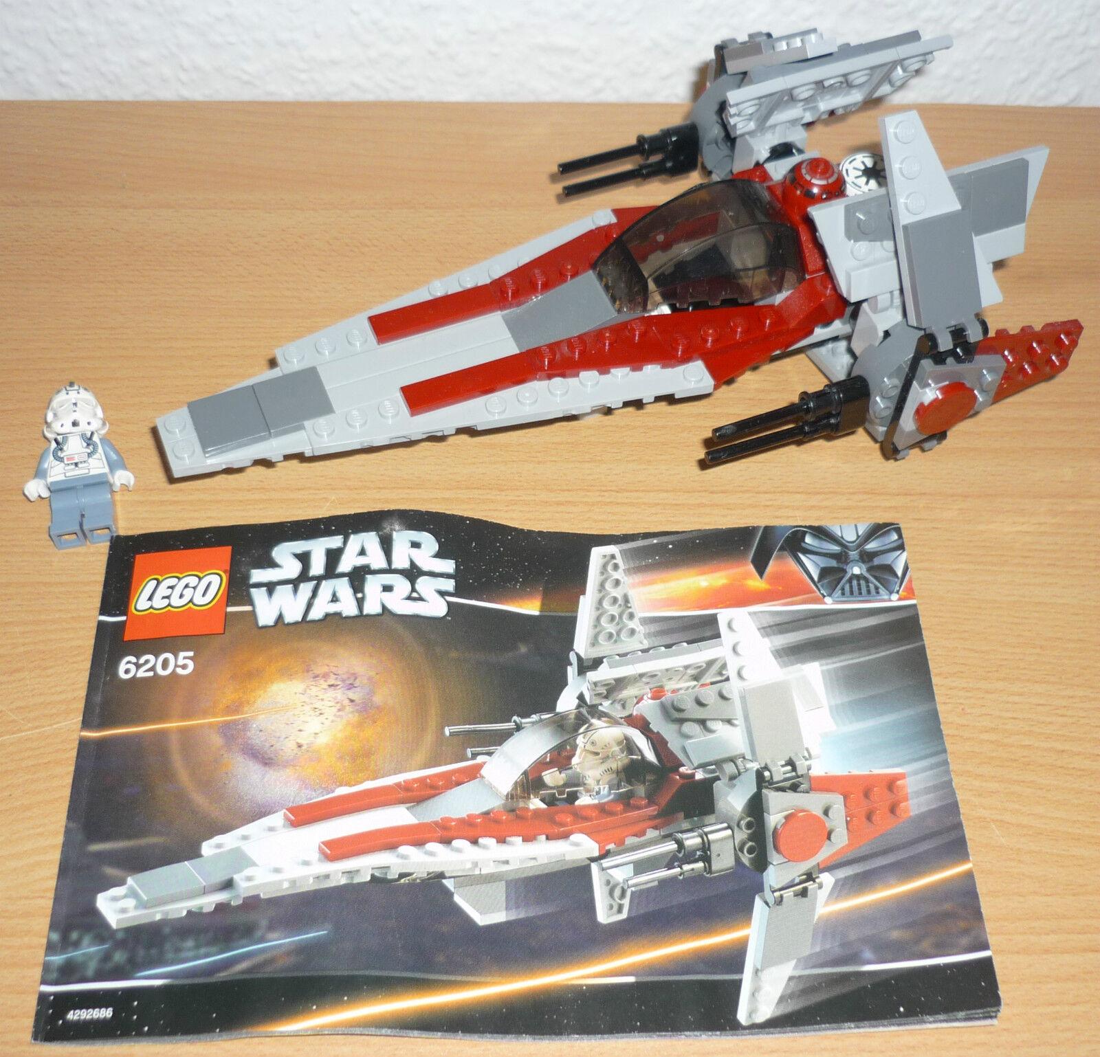 Lego Star Wars 6205 V-Wing Fighter v. 2006 + OBA  | Rabatt