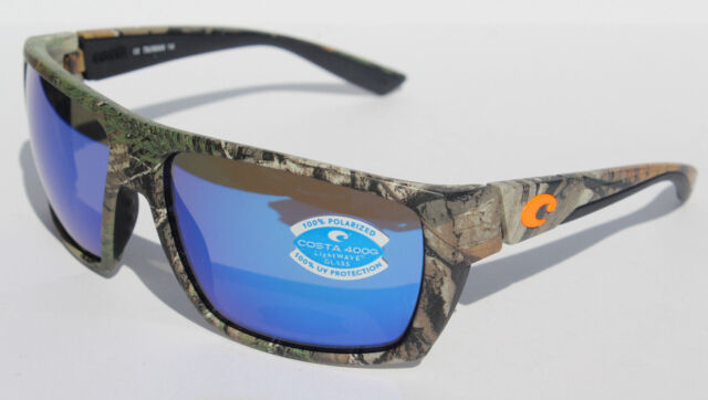 b13d2e4b63 COSTA DEL MAR Hamlin POLARIZED Sunglasses Realtree Xtra Camo Blue Mirror NEW