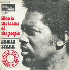EDWIN STARR Who Is The Leader Of The People/Dont Tell Me Im Crazy MOTOWN PS SOUL