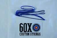 50 18 Strand Blue Dacron B50 Longbow Bowstrings By 60x Custom Strings Bow