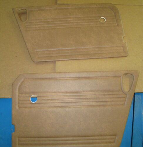 New Pair of Door Panels for MG Midget 197879 Beige Champagne Made in UK