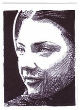 ACEO Sketch Card Actress Natalie Dormer C as Margaery Tyrell Game of Thrones