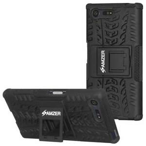 AMZER-Impact-Resistant-Hybrid-Warrior-Kickstand-Case-for-Sony-Xperia-X-Compact