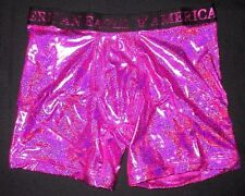 MENS AMERICAN EAGLE CLASSIC TRUNK METALLIC FUCHSIA BOXER BRIEF SIZE L (35/38)