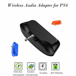 Ps4 Bluetooth Headset Audio Adapter Dongle Receiver For Sony Playstation 4 3 5mm Ebay