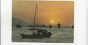 BF28131-sun-set-hong-kong-china-front-back-image