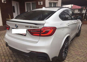 Bmw X6 F16 M Performance Rear Bumper Spoiler Ebay