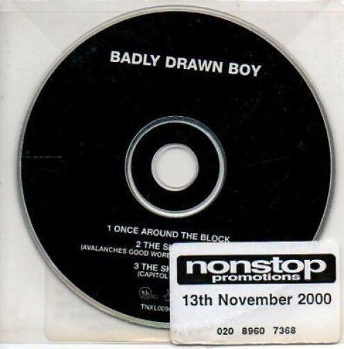 (AL826) Badly Drawn Boy, Once Around The Block - DJ CD