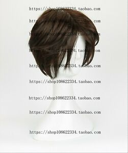 CAP Free Ship Final Fantasy VIII Squall Short Anime Cosplay Costume Wig