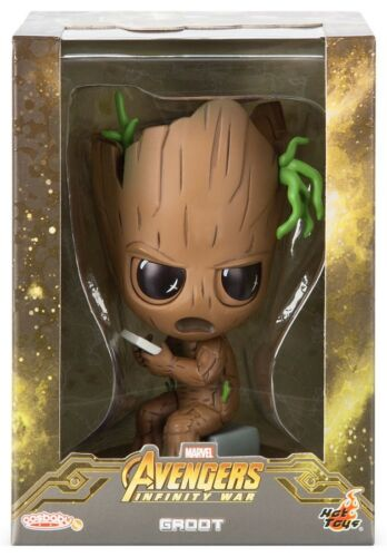 Marvel Avengers Infinity guerre Cosbaby Groot 4 pouces Bobble Head