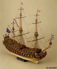 """Intricate, Authentic Wooden Model Ship Kit by Mamoli: the """"Friesland"""""""