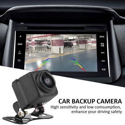 180° Car License Plate Rear View Backup Reverse Parking Camera 8LED Night Vision