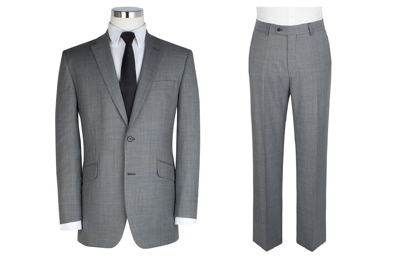 Scott Wollmischung 2-tlg Anzug in hellgrau (10123) Größen 50 to 60