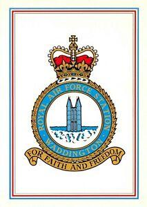 Postcard-RAF-Royal-Air-Force-Station-WADDINGTON-Crest-Badge-No-5-NEW