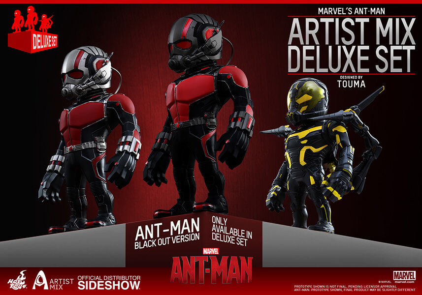 Ant-Man Movie Artist Mix Deluxe Set Figure Collection HOT TOYS