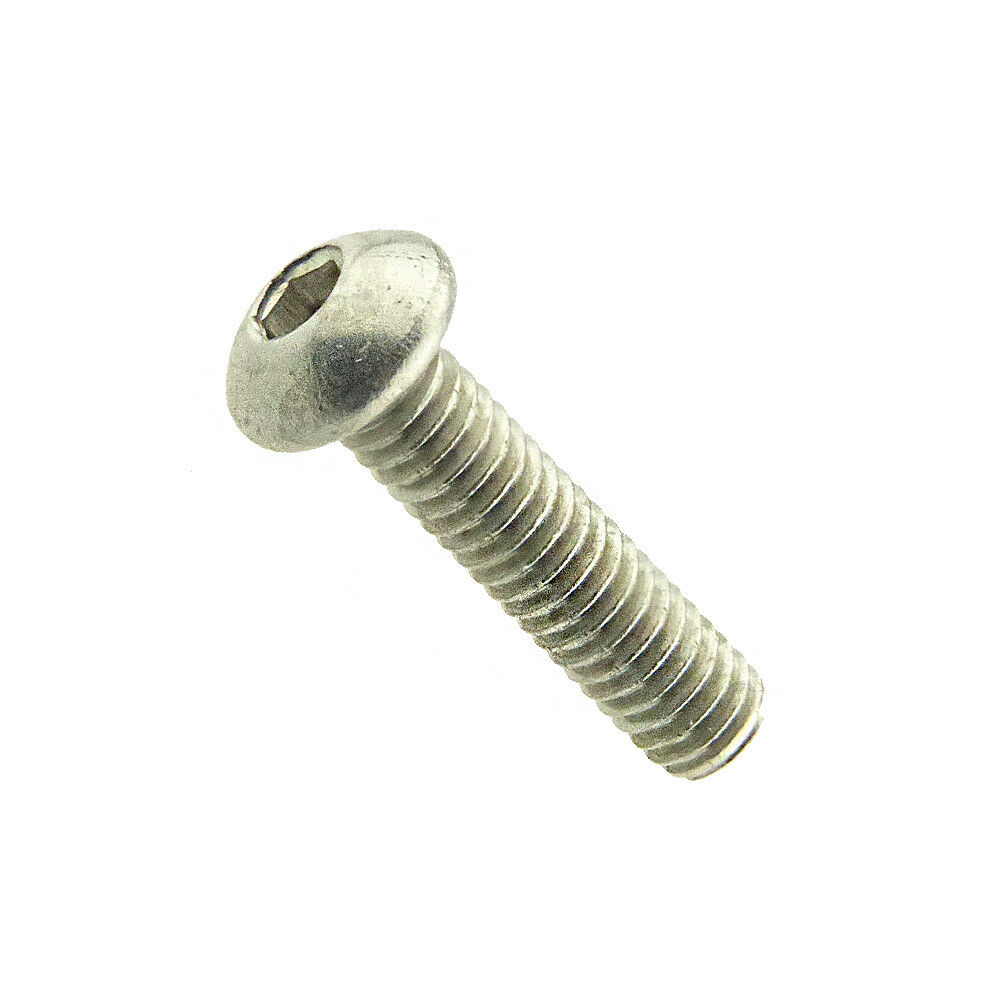 Flachkopfschrauben mit Innensechskant ISO 7380-1 Edelstahl A2