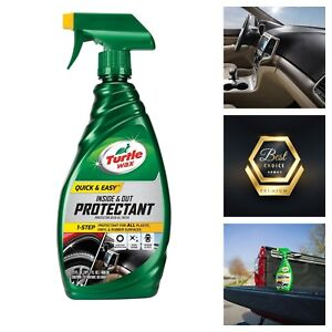 turtle wax quick and easy inside and out protectant auto car
