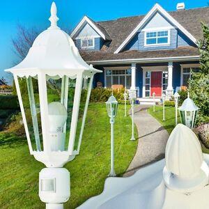 au enstehlampe bewegungsmelder wege lampe garten aussen steh leuchte stehlampe ebay. Black Bedroom Furniture Sets. Home Design Ideas