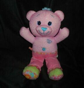 Brittany Stuffed Animal, 12 2005 Jakks Pacific Doodle Draw Pink Teddy Bear Stuffed Animal Plush Toy Ebay