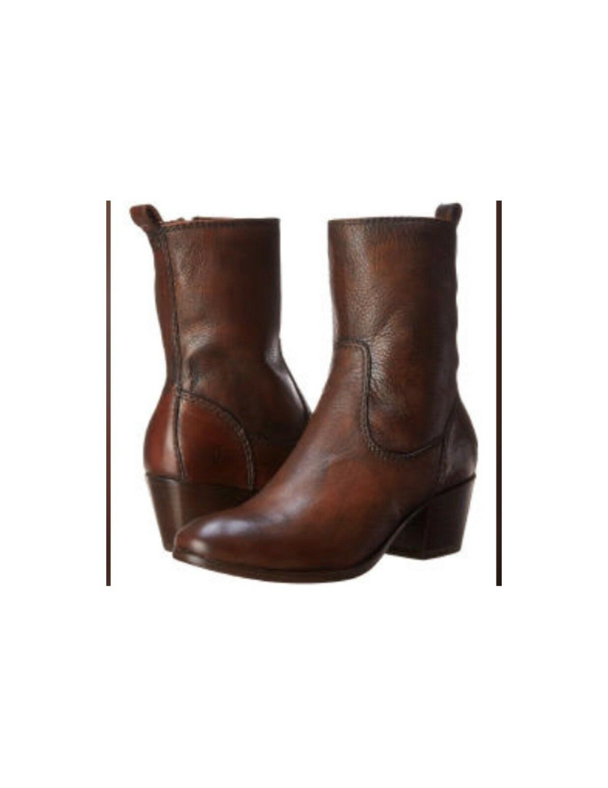 Frye Boots Courtney Short Whiskey Color Size 9.5 SOLD OUT IN STORES
