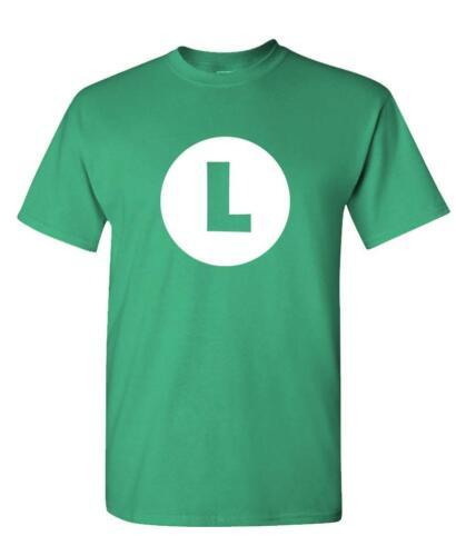LUIGI Unisex Cotton T-Shirt Tee Shirt