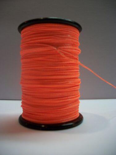 Flo Fluorescent Orange BCY Nock /& Peep Thread Archery Bow String Serving Nylon