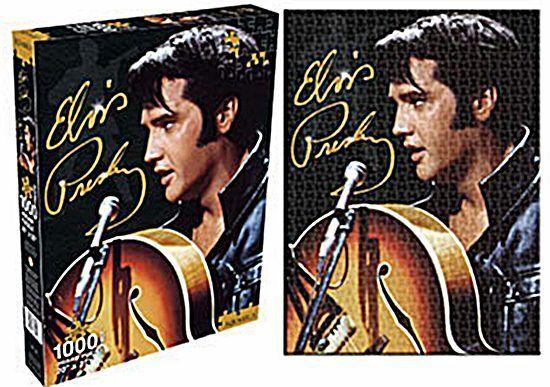 Elvis Presley 1968 1000 Teile Puzzle   690 mm x 510 mm  (nm)