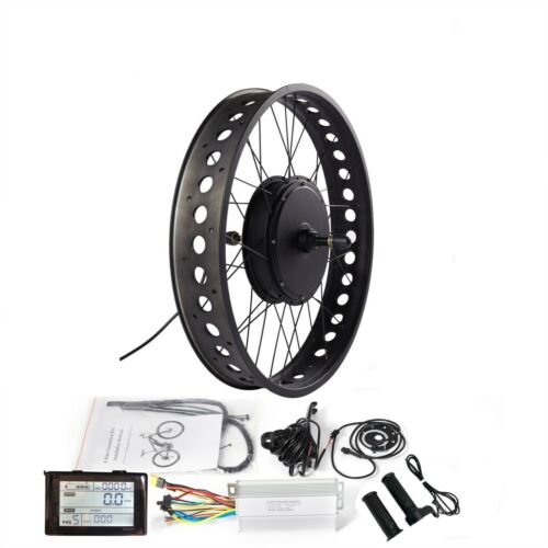 """Fat Ebike Conversion Kit with SW900 Display for 20/""""//24/""""//26/"""" Snow Electric Bike"""