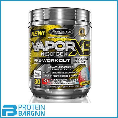 Muscletech Vapor X5 Next Gen 30 Serves 5 in 1 Pre Workout BEST ONLINE PRICE