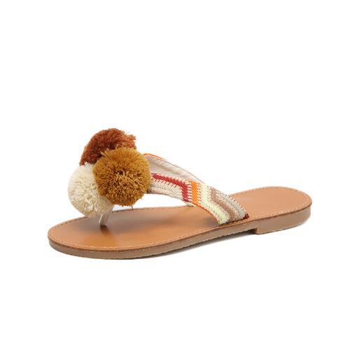 Cuir Beige Basses 1138 Comme Tongs Confortable Sandales Élégant 4qwxTqR