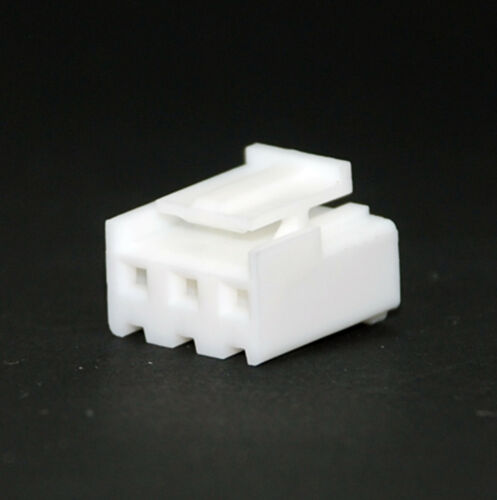 100pc JST VH Female Connector Housing pitch= 3.96mm 3P Color=White RoHS