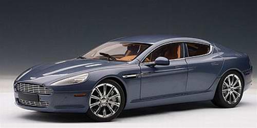 Aston Martin Rapide Blu Autoart 1:18 Aa70218 Model Car Diecast