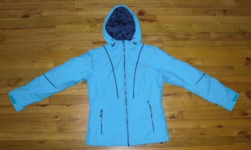 Columbia Thermal Jacket Aqua Kvinders Størrelse Coil Hooded Small Vinter 7Bqwvdw