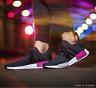 adidas NMD R1 Primeknit Shock Pink Black BB2364 Womens Trainers All Sizes