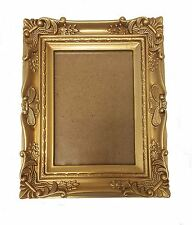 Novelty Golden Plastic Photo Selfie Family Portrait or Picture Frame Decoration