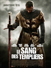 AFFICHE LE SANG DES TEMPLIERS 4x6 ft Bus Shelter D/S Movie Poster Original 2011