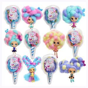 1x-Doll-Toy-Candylocks-Cotton-Candy-Hair-Marshmallow-Hair-Christmas-Czx-Lizzj