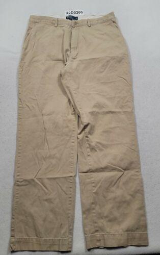 Polo By Ralph Lauren Tan Chino Pants Mens Size 36x